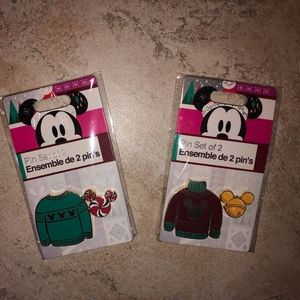 Mickey Mouse Pins Set of 2